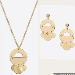 J. Crew Mobile Necklace and Earrings Set